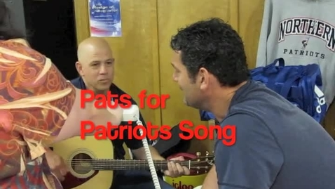 Thumbnail for entry Pats for Patriots Song