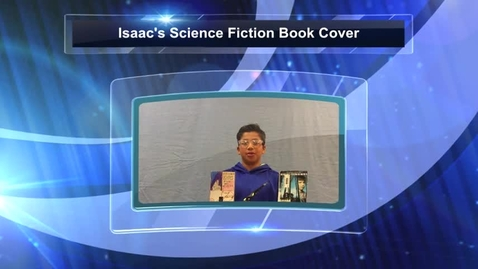 Thumbnail for entry Issac's Science Fiction Book Cover