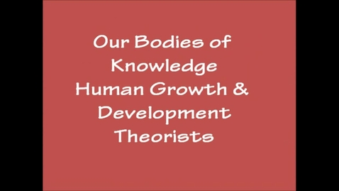 Thumbnail for entry Our Bodies of Knowledge Project