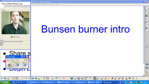 Thumbnail for entry 1.02a - Bunsen Burner Intro