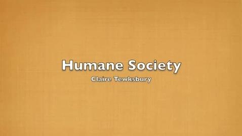 Thumbnail for entry Huron Valley Humane Scoiety