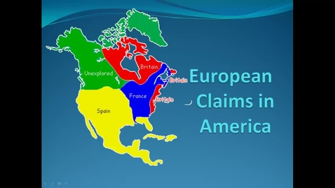 Thumbnail for entry European Claims in America