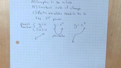 Thumbnail for entry 5.3b Linear Equations Slope-Intercept Form