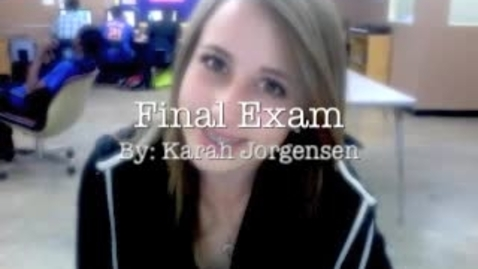 Thumbnail for entry Karah Jorgensen Final