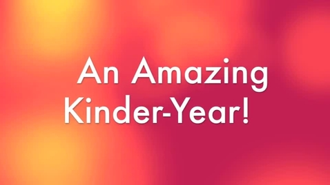 Thumbnail for entry Kinder-Memories 2012-2013
