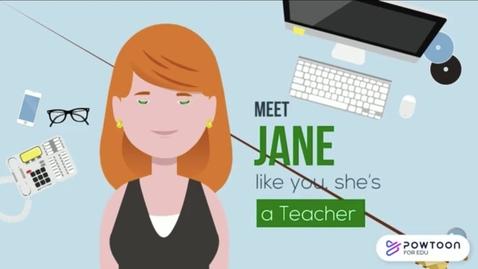 Thumbnail for entry How teachers can use SchoolTube's Powtoon