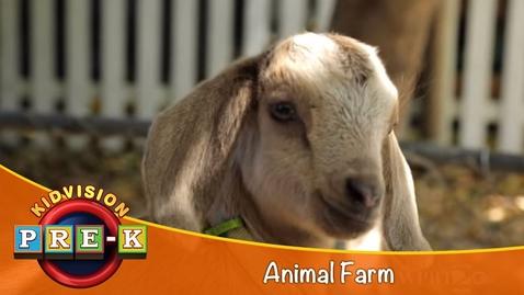 Thumbnail for entry Take a Field Trip to the Animal Farm | KidVision Pre-K