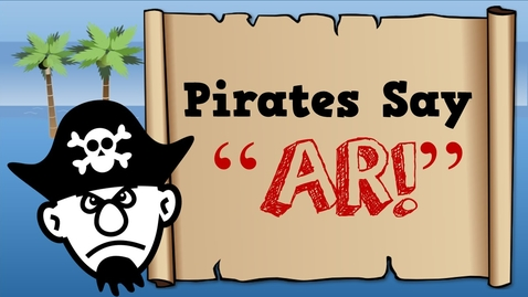 """Thumbnail for entry Pirates Say AR!  (song for kids about the """"ar"""" sound)"""