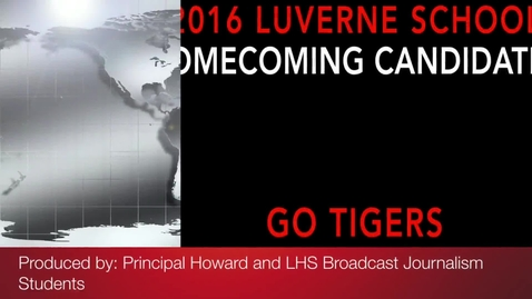 Thumbnail for entry 2016 Luverne School Miss Homecoming Candidates