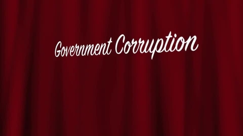 Thumbnail for entry Governmental Corruption