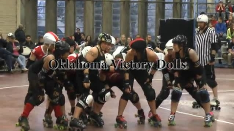 Thumbnail for entry Roller Derby Video Project
