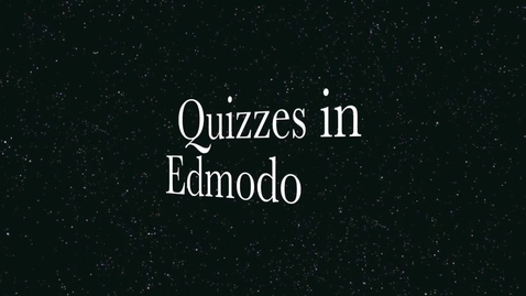 Thumbnail for entry Creating quizzes in Edmodo for students with iPads