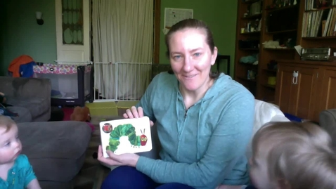 Thumbnail for entry The Very Hungry Caterpillar - Triplet Edition