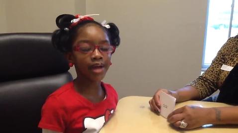 Thumbnail for entry First Grade Nance Reader!