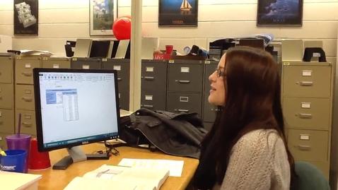 Thumbnail for entry Excel 2013: Define Names SetUp