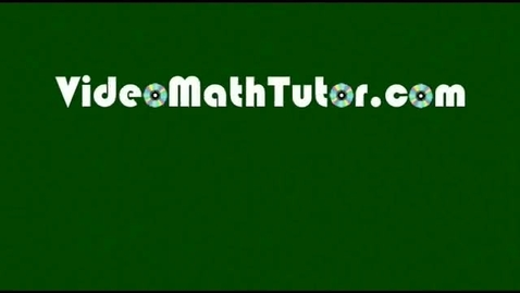 Thumbnail for entry Algebra: Solving Linear Equations - Part 2: Applications (Sample 2)