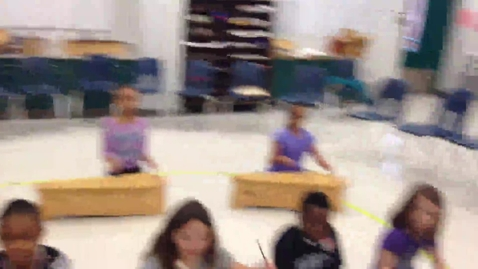 """Thumbnail for entry 14-15 Ms. Dondero's 2nd grade class """"Five Little Monkeys"""""""
