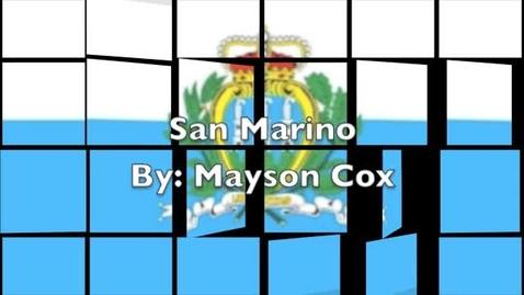 Thumbnail for entry San Marino by Mayson