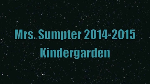 Thumbnail for entry 2014-2015 Sumpter's Roll Call