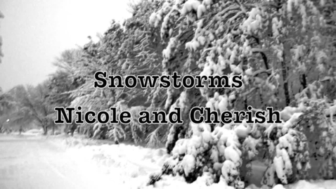 Thumbnail for entry Snowstorms