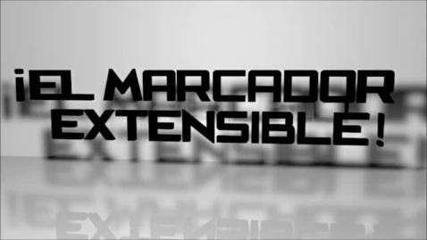 Thumbnail for entry Marcador Extensible Infomercial