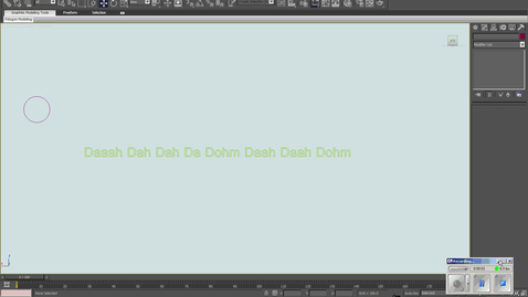 Thumbnail for entry How to put sound in a 3DS Max scene