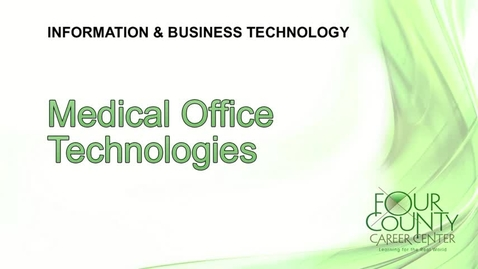 Thumbnail for entry FCCC - Medical Office Technologies 2017