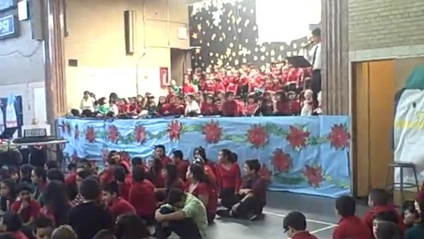 Thumbnail for entry 3rd of 4 clips-2013) St Agnes of Bohemia.Chicago-2013 Christmas Show-Song All Grades