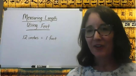 Thumbnail for entry Measuring Length to the Nearest Foot