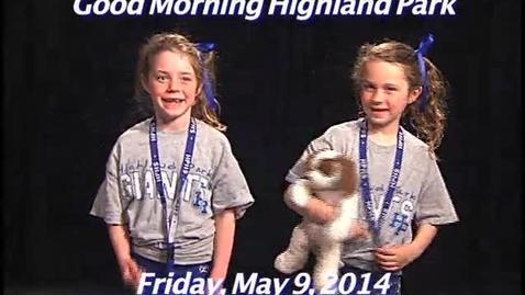 Thumbnail for entry Friday, May 9, 2014