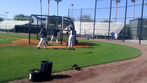 Thumbnail for entry Yankees Batting Practice (Spring Training)