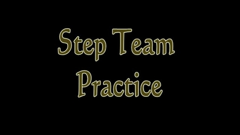 Thumbnail for entry Battlefield Step Team