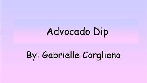 Thumbnail for entry avocado dip