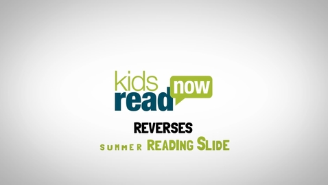 Thumbnail for entry Kids Read Now 30-Second Program Introduction
