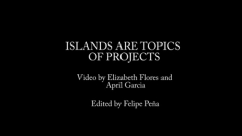 Thumbnail for entry Islands are topics of projects