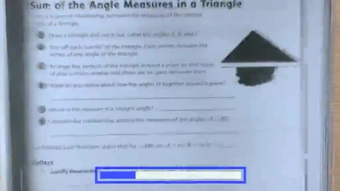 Thumbnail for entry 11.2a Angle Theorems for Triangles