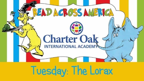 Thumbnail for entry Read Across America Week: The Lorax