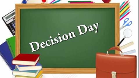 Thumbnail for entry Decision Day 2018