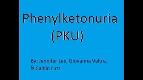 Thumbnail for entry Phenylketonuria