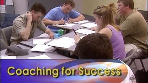 Thumbnail for entry Coaching for Success