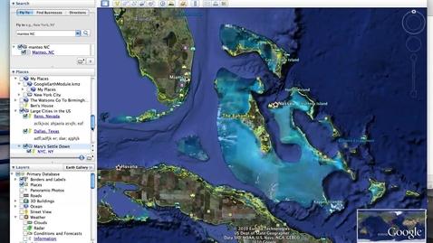 Thumbnail for entry Saving a Folder in Google Earth