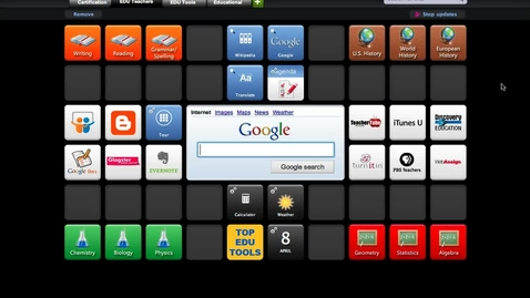 Thumbnail for entry SymbalooEDU Screencast: Intro to webmixes