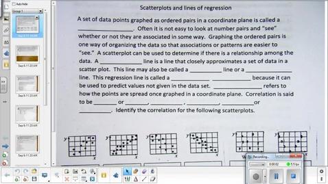 Thumbnail for entry Scatterplot lesson pt 2  9-9-15