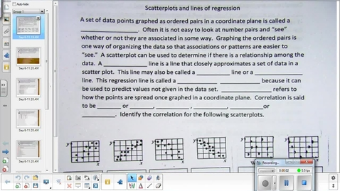 Thumbnail for entry Scatterplot lesson pt 2  9-9-15