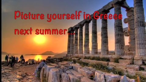 Thumbnail for entry Come to Greece with our travel club!