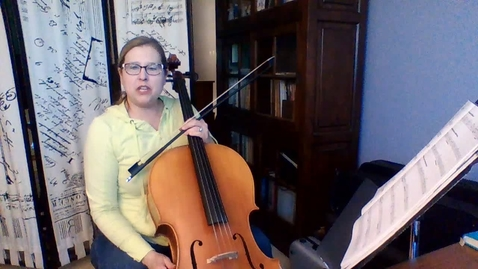 Thumbnail for entry 8th GR Cello Intro to SightRead It Unit 5 Explanation Week 7