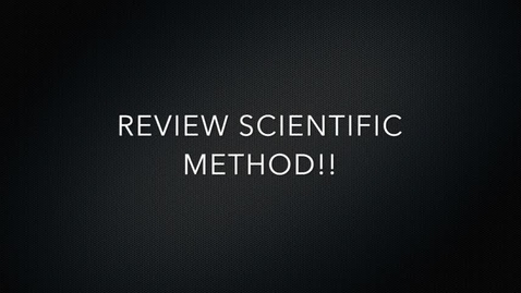 Thumbnail for entry Science Experiment Example