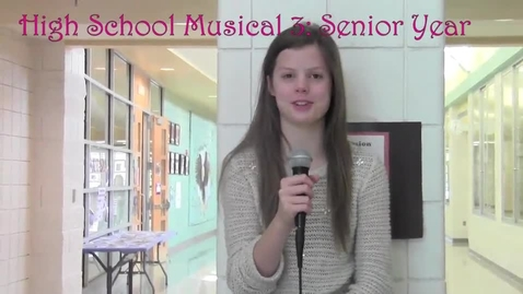 Thumbnail for entry High School Musical 3 Review from Mr. Meta's Eagle News class