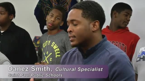 """Thumbnail for entry African American Male Initiative (AAMI) students at Washington Technology Magnet School presented """"Ten Things I Want to Say To a Black Man"""""""
