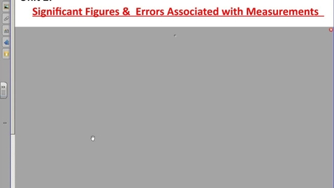 Thumbnail for entry Significant Figures and Error Associated with Measurments Notes MULTIPLY AND DIVIDE